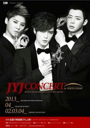 [PIC] JYJ Concert in Tokyo Dome