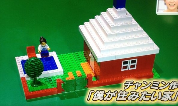 changmin house with pool