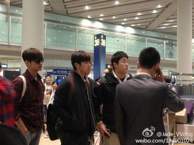 tvxq beijing airport 1
