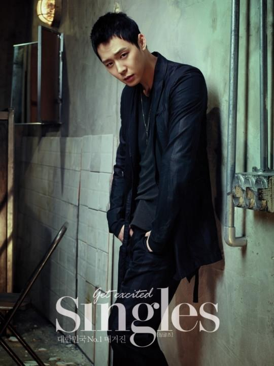 yoochun single magazine 1