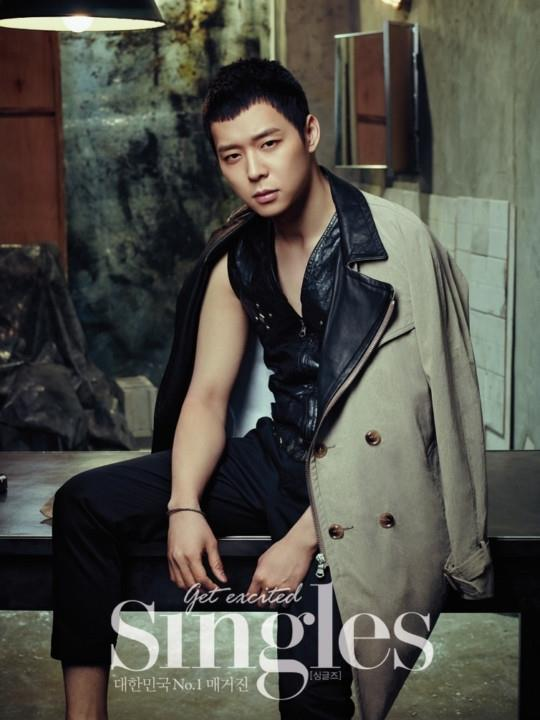 yoochun single magazine