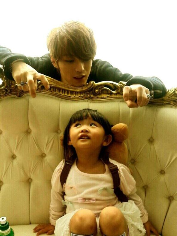 jaejoong and his niece