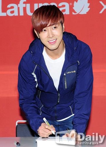 yunho smile