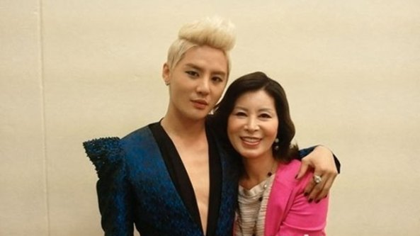 junsu and his mother